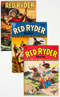 Red Ryder Comics Group of 10 (Dell, 1944-56).... (Total: 10 Items)