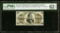 Fractional Currency:Third Issue, Fr. 1296 25¢ Third Issue PMG Uncirculated 62 EPQ.. ...