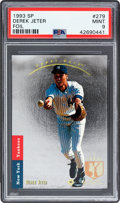 Baseball Cards:Singles (1970-Now), 1993 SP Derek Jeter #279 PSA Mint 9....