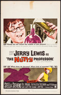 """Movie Posters:Comedy, The Nutty Professor & Other Lot (Paramount, 1963). Very Fine-. Window Cards (2) (14"""" X 22""""). Comedy.. ... (Total: 2 Items)"""