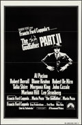 """Movie Posters:Crime, The Godfather Part II (Paramount, 1974). Folded, Very Fine. International One Sheet (27"""" X 41""""). Crime.. ..."""