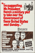 """Movie Posters:Thriller, Seven Days in May (Paramount, 1964). Folded, Fine/Very Fine. One Sheet (27"""" X 41""""). Thriller.. ..."""