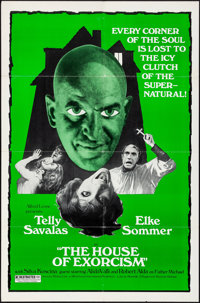 """The House of Exorcism (Peppercorn-Wormser, 1974). Folded, Very Fine. One Sheet (27"""" X 41""""). Horror"""