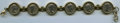 Ancients:Roman Imperial, Ancients: ANCIENT LOTS. Roman Imperial. Ca. AD 193-217. Lot of six (6) AR denarii mounted into a bracelet. About VF-VF....