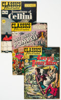 Golden Age (1938-1955):Classics Illustrated, Classic Comics First Editions Group of 4 (Gilberton, 1947) Condition: Average VG+.... (Total: 4 Comic Books)