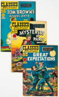 Golden Age (1938-1955):Classics Illustrated, Classic Comics #43-46 and 48 First Editions Group (Gilberton, 1947-48) Condition: Average VG/FN.... (Total: 5 Comic Books)