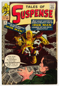 Silver Age (1956-1969):Superhero, Tales of Suspense #42 (Marvel, 1963) Condition: VG-.