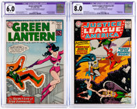 Green Lantern #16/Justice League of America #31 CGC-Graded Group (DC, 1962-64).... (Total: 2 Comic Books)