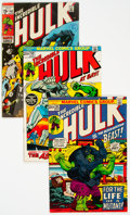 Bronze Age (1970-1979):Superhero, The Incredible Hulk Group of 14 (Marvel, 1970-75) Condition: Average VG/FN.... (Total: 14 )