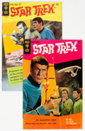 Silver Age (1956-1969):Science Fiction, Star Trek #1 and 2 Group (Gold Key, 1967-68) Condition: AverageFN.... (Total: 2 Comic Books)