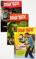 Silver Age (1956-1969):Science Fiction, Star Trek Group of 4 (Gold Key, 1968-70) Condition: Average FN+.... (Total: 4 Comic Books)