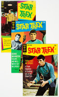 Silver Age (1956-1969):Science Fiction, Star Trek Group of 4 (Gold Key, 1969-70) Condition: Average VF+.... (Total: 4 Comic Books)