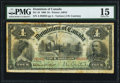 Canadian Currency, DC-16 $4 2.7.1900 PMG Choice Fine 15.. ...