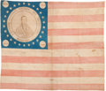 Henry Clay: A Marvelous Rare and Highly Distinctive 1844 Campaign Flag Banner
