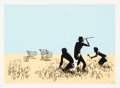 Prints & Multiples:Print, Banksy (b. 1974). Trolleys, 2007. Screenprint in colors on Arches paper. 19-3/8 x 27-1/8 inches (49.2 x 68.9 cm) (image)...