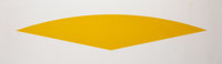 Ellsworth Kelly (1923-2015) Yellow Curve, 1988 Lithograph in colors on Arches 88 paper 26 x 84 in