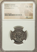 Ancients:Ancient Lots , Ancients: ANCIENT LOTS. Roman Imperial. Ca. AD 270-337. Lot ofthree (3) BI nummus and antoniniani. NGC Choice XF-AU.... (Total: 3coins)