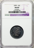 1899 25C -- Stained -- NGC Details. Proof. NGC Census: (1/156). PCGS Population: (11/222). CDN: $310 Whsle. Bid for prob...