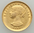Chile, Chile: Republic gold 20 Pesos 1926-So AU (surface hairlines), ...