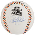 Autographs:Baseballs, 2007 Derek Jeter All-Star Game Single Signed Baseball....