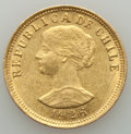 Chile, Chile: Republic gold 50 Pesos 1926-So About XF (surface hairlines),...