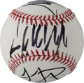 Autographs:U.S. Presidents, Donald J., Ivanka & Melania Trump: An Awesome Official MajorLeague Baseball Signed by All Three!...