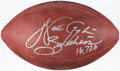 "Autographs:Footballs, Walter Payton ""Sweetness 16,726"" Signed Football...."