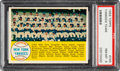 Baseball Cards:Singles (1950-1959), 1958 Topps New York Yankees Team #246 PSA NM-MT 8....
