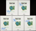 Autographs:Others, Robin Yount Signed Publication Lot of 5....