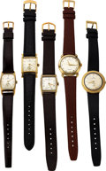 Timepieces:Wristwatch, Hamilton 14K Thinline 2003, Goldfilled Automatic K-455, Bo...