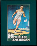 "Olympic Collectibles:Autographs, Jesse Owens ""36 Olympics"" Signed Display...."