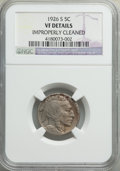 Buffalo Nickels: , 1926-S 5C -- Improperly Cleaned -- NGC Details. VF. NGC Census: (279/1099). PCGS Population: (366/1400). CDN: $145 Whsle. B...