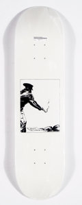 Prints & Multiples:Contemporary, Supreme X Raymond Pettibon. Bang and Blood (two works), 2014. Offset lithographs in colors on skate deck. 32 x 8 inches ... (Total: 2 Items)