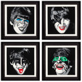 Prints & Multiples:Print, Mr. Brainwash (French, b. 1966). Kiss the Beatles, set of four, 2010. Serigraphs in colors on archival paper. 18 x 18 in... (Total: 4 Items)