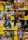 "Movie Posters:Western, El Dorado & Other Lot (Paramount, 1967). Very Fine. Spanish Lobby Card Set of 12 & Spanish Lobby Cards (2) (9.5"" X 13.5). We... (Total: 14 Items)"