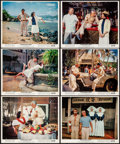 """Movie Posters:Comedy, Donovan's Reef (Paramount, 1963). Very Fine-. Color Photo Set of 12 (8"""" X 10""""). Comedy.. ... (Total: 12 Items)"""
