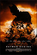"""Movie Posters:Action, Batman Begins (Warner Brothers, 2005). Rolled, Very Fine/Near Mint. One Sheet (27"""" X 40"""") DS, Advance, Style C. Action.. ..."""