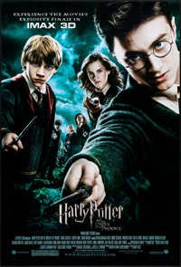 """Harry Potter and the Order of the Phoenix (Warner Brothers, 2007). Rolled, Very Fine+. One Sheet (27"""" X 40"""") D..."""