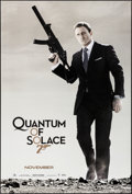 """Movie Posters:James Bond, Quantum of Solace (MGM, 2008). Rolled, Very Fine/Near Mint. OneSheet (26.75"""" X 39.75"""") SS Advance. James Bond.. ..."""