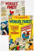 Silver Age (1956-1969):Superhero, World's Finest Comics #84 and 85 Group (DC, 1956).... (Total: 2 Comic Books)