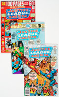 Bronze Age (1970-1979):Superhero, Justice League of America Group of 13 (DC, 1971-79) Condition:Average VF.... (Total: 13 Comic Books)