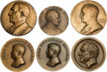 Political:Inaugural (1789-present), Warren G. Harding et al: Official Inauguration and Non-Official Bronze Medals....