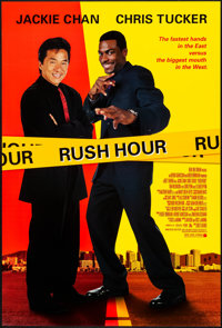 """Rush Hour & Other Lot (New Line, 1998). Rolled, Very Fine+. One Sheets (4) (27"""" X 40"""") DS. Action..."""