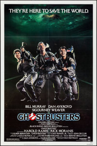 """Ghostbusters (Columbia, 1984). Folded, Very Fine-. One Sheet (27"""" X 41""""). Comedy"""