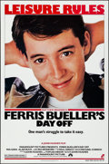 """Movie Posters:Comedy, Ferris Bueller's Day Off (Paramount, 1986). Rolled, Near Mint. One Sheet (27"""" X 41"""") SS. Comedy.. ..."""