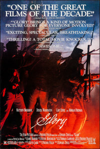 "Glory & Other Lot (Tri-Star, 1989). Rolled, Very Fine-. One Sheets (3) (27"" X 40"") SS, Review Style. W..."