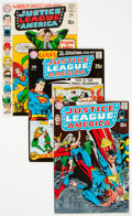 Bronze Age (1970-1979):Superhero, Justice League of America Group of 17 (DC, 1969-76) Condition:Average FN.... (Total: 17 Comic Books)