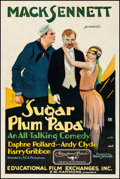 "Movie Posters:Comedy, Sugar Plum Papa (Educational, 1930). Very Fine- on Linen. One Sheet(27"" X 41""). Comedy. From the Collection of Frank Buxt..."