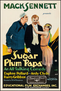 """Sugar Plum Papa (Educational, 1930). Very Fine- on Linen. One Sheet (27"""" X 41""""). Comedy. From the Collection o..."""
