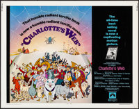 """Charlotte's Web (Paramount, 1973). Rolled, Very Fine. Half Sheet (22"""" X 28""""). Animation"""